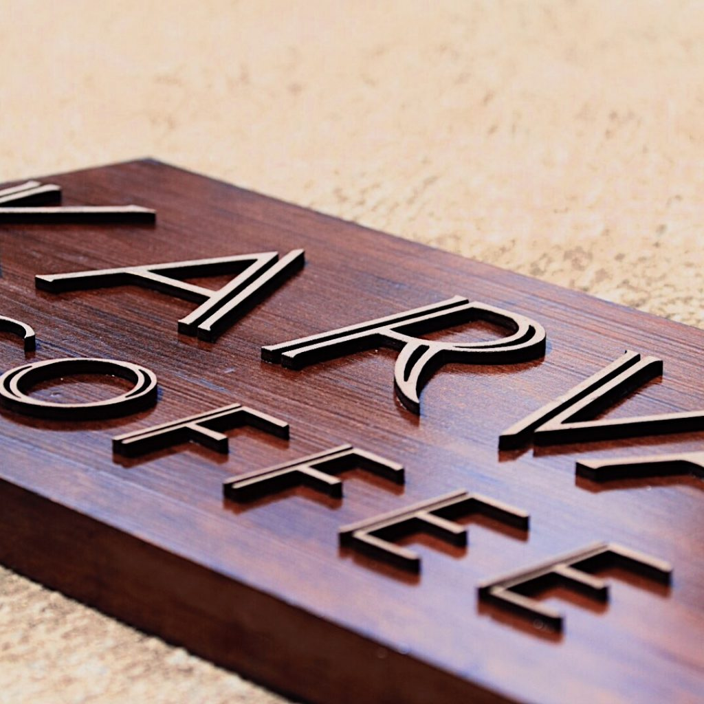 custom wooden signage perth